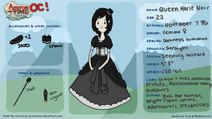 Adventure Time OC Meme: Queen Noir