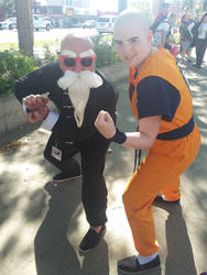 Dragon Ball Z - Krillin Cosplay 02 by SketchyRian