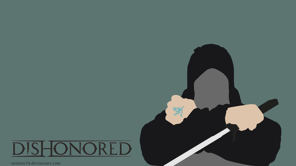 Dishonored Corvo Minimalist. by Nemien79
