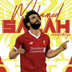 Mohamed Salah by AhmetTurDesign
