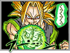 Dragonball AF Xicor - energy 1 by JaworPL