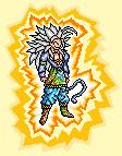 Goku SSJ5 Sprite - 9800 PV by JaworPL
