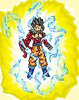 Gohan SSJ4 POWER Sprite by JaworPL