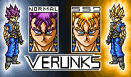Verunks NormaL + SsJ sprite by JaworPL