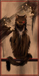 The Black Cat by TrinkaMarguaSimon
