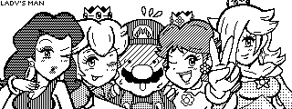 Mario And his Ladies Friends by TaylorSwitch64