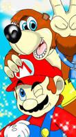 (IF) Banjo-Kazooie join Smash Bros. by TaylorSwitch64