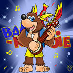 Banjo-Kazooie in Mario Clip Art design by TaylorSwitch64