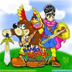 Banjo Kazooie X Dragon Quest