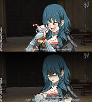 What if Byleth brings Cuphead to Class?