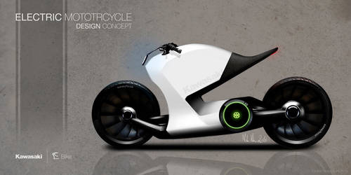 Electric motorcycle concept by mikanisk