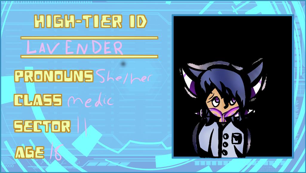 Lavender ID Card by SpiritOfTheLilys