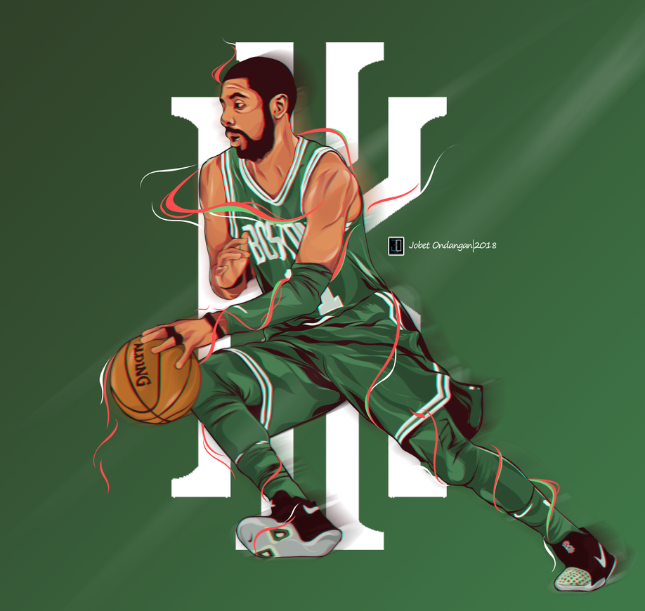 Kyrie Irving 11 Uncle Drew By JobetArt