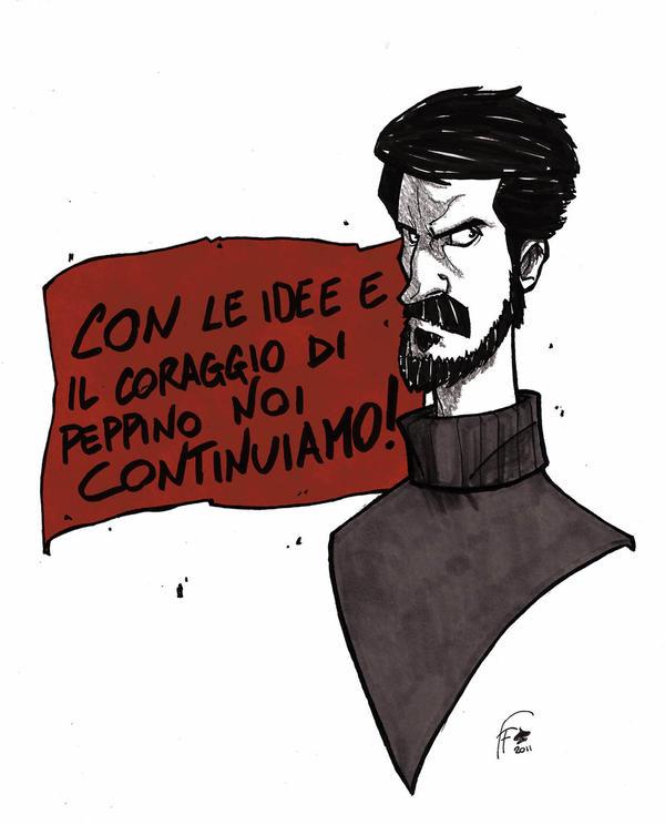 Peppino Impastato by FranchiFabio