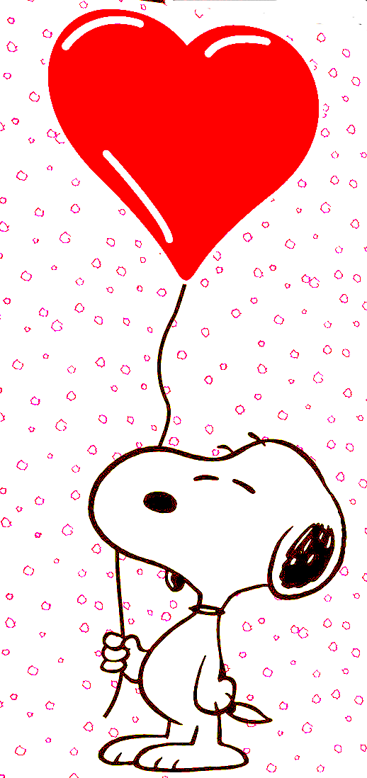 snoopy valentines desktop wallpaper