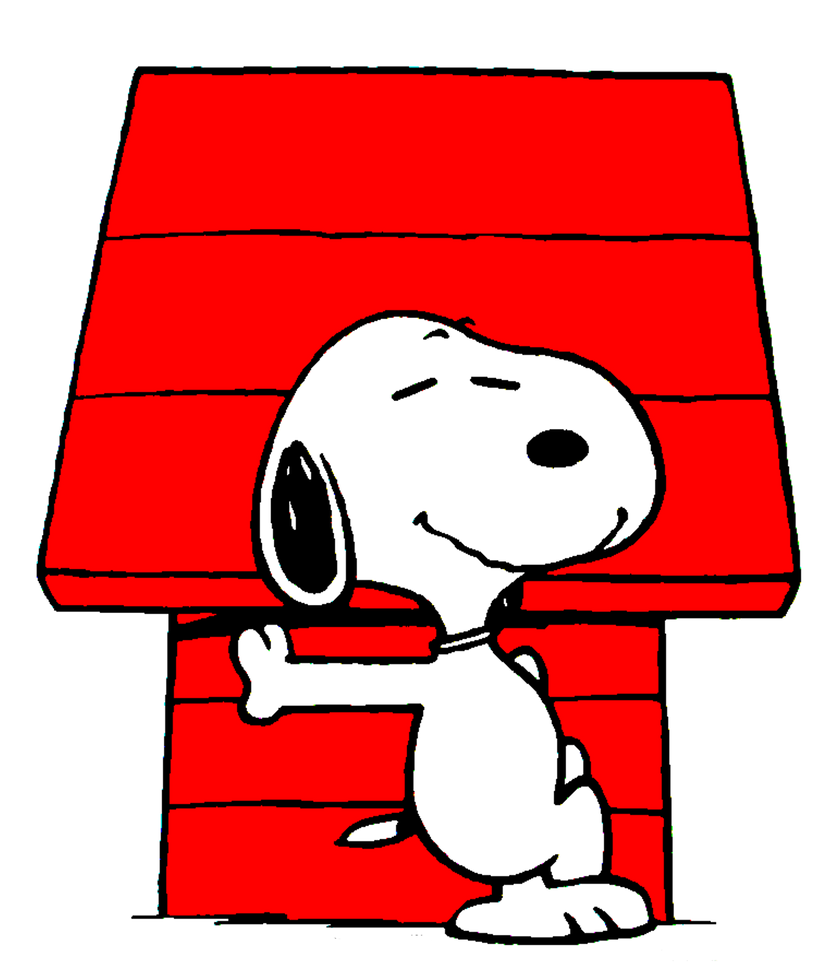 dog in doghouse clipart - photo #40