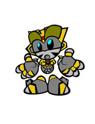 Bumblebee Fella by Kirby-Force
