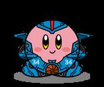 Kirby Pacific Rim: Gipsy Danger