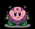 Kirbyformers 3: Mixmaster (ROTF) - G1 colors