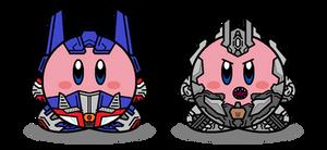 Kirbyformers 3: Optimus and Megatron (Movie)