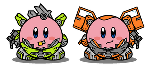 Kirbyformers 3: Skids and Mudflap (ROTF) by Kirby-Force