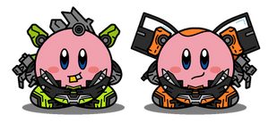 Kirbyformers 3: Skids and Mudflap (DOTM) by Kirby-Force