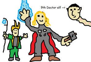 Thor 2 - Dark skies. by Kirby-Force