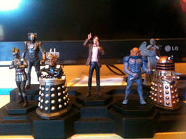 Doctor Who figurine collection 1-7 by Kirby-Force