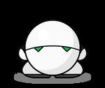 Kirby HHGTTG: Marvin the Paranoid Android