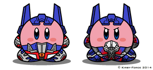 Kirbyformers 3: Optimus Prime (Movie and AoE)