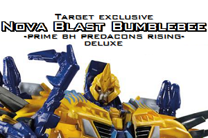 TFP BH PR deluxe Nova Blast Bumblebee by Kirby-Force