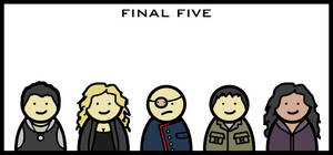BSG - Final Five by Kirby-Force