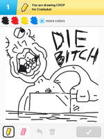 Draw Something - Chop by Kirby-Force