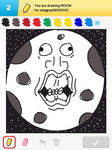Draw Something - Moon #1
