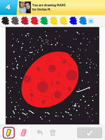 Draw Something - Mars by Kirby-Force