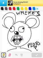 Draw Something - Mickey by Kirby-Force