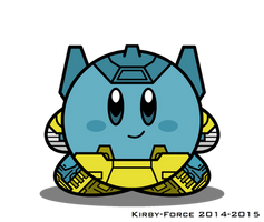 Kirbyformers 3: Sideswipe (G2 toy mockup) by Kirby-Force