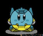 Kirbyformers 3: Sideswipe (G2 toy mockup)