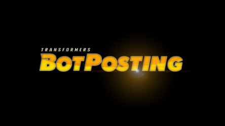 Transformers Botposting page logo by Kirby-Force