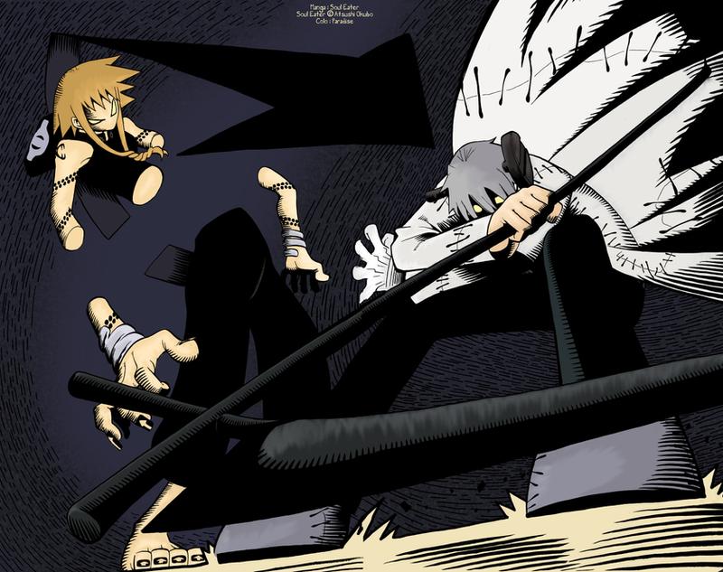 Stein + Spirit vs. Medusa by ParadiseNightwish