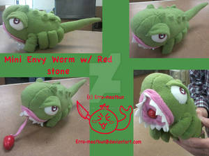 Mini Envy Worm Plush