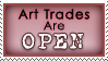 da Stamp - Art Trades Open by lynkx-ie