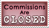 dA Stamp - Commish Closed