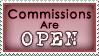 dA Stamp - Commish Open