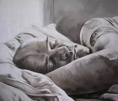 Sleepy Mornings by AnnaGilhespy