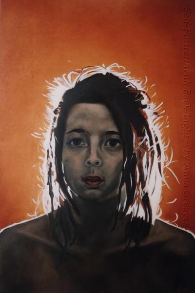 Selfportrait with Backlight by AnnaGilhespy