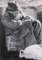 Homeless II by AnnaGilhespy