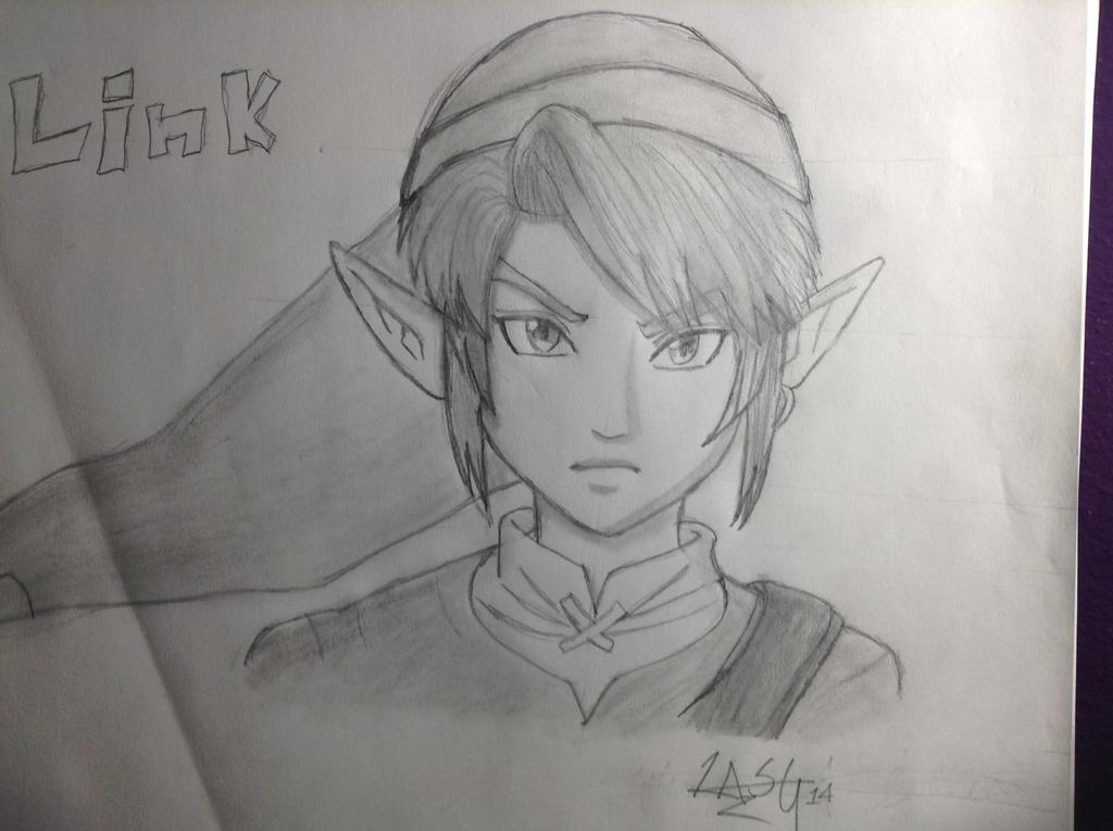 Link From the Legend of Zelda by RockingGamerGirl