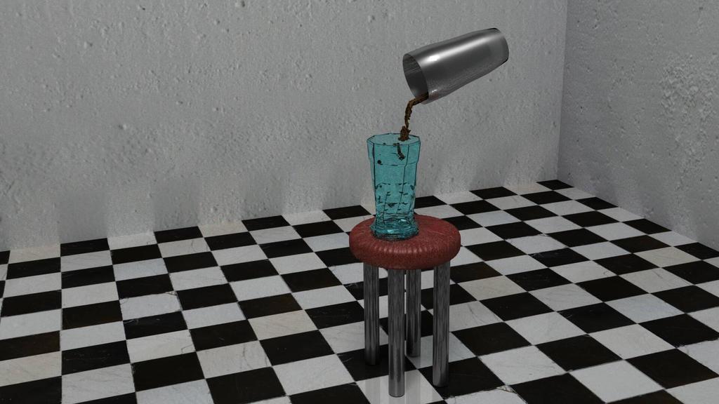 3D Milk Shake XD by RockingGamerGirl