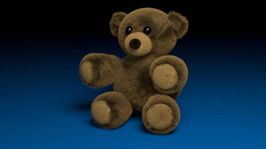 3D Teddy Bear by RockingGamerGirl